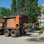 В Волгоградской области применяют экономичный способ ремонта дорог