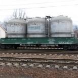 В декабре перевезено более 1,2 млн тонн цемента
